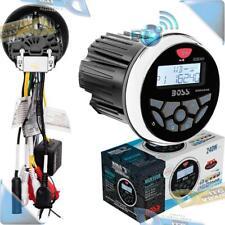 NEW Boss Audio Marine Gauge Style Bluetooth AM/FM USB/MP3 Stereo Radio Receiver