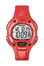 Timex Watch Plastic Red Date Digital Quartz T5K686XU