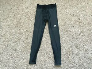 Adidas Men's Techfit Chill Long Compression Base Layer Tights