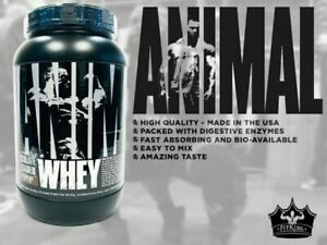 Universal ANIMAL WHEY Protein 2 lbs, 28 Servings BROWNIE BATTER - NEW YEAR SALE