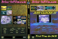 JUST CLOCKS Drive-in Intermission film trailer snack bar DVD movie theater 16mm