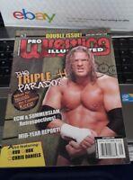 TRIPLE H Pro Wrestling Illustrated Magazine September 2006 HHH RVD