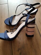 Next Navy Sandals Size 5.5