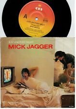 MICK JAGGER ROLLING STONES Just another night 45rpm 7' + PS 1985 AUSTRALIA EX+