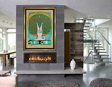 Friedensreich Hundertwasser Serigraph Signed Schroder Sonnenstern Modern Artwork