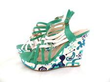 4a57066f2f7ce4 High Heel Sandaletten Damen-Schuhe Plateau Pfennig- Stilettoabsatz High  Heels Reißverschluss Sandalen