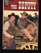 4-COLOR  THE DEPUTY #1130 DELL 1960 GD+  MOVIE/TV..PHOTO-c  HENRY FONDA