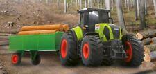 CLAAS RC Axion 850 Traktor + Hänger und Holz 1:28