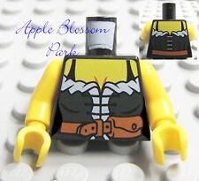 NEW Lego Castle Female DARK GREEN MINIFIG TORSO Pirate Peasant Girl Corset Upper