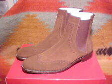 NIB Ferragamo BLASONE Boot Brown Size 9.5 $725 ~ 2 DAY SALE ~ WAS $279