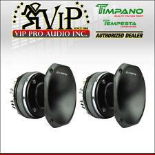 """2x Timpano Tempesta TPT-DH2000 400W 2"""" Titanium Voice Coil Compression Driver"""