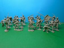 Marx 1/32 scale ACW Confederate Infantry x22 (grey)