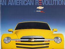 CHEVROLET SSR Pickup Pick Up Hochglanz Sales Brochure Prospekt 26x29cm USA 2005
