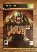 DOOM 3 Video Game Store Display Sign Original X-Box 2005 ID Promo Advertising