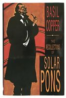 Basil Copper: The Recollections of Solar Pons FIRST EDITION MINT