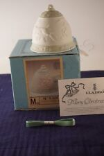 Lladro 1988 Bell ornament Mib with Coa and ribbon 5525