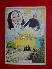 LIBRO FUMETTO 90 ANNI DI CAMILLO SUORE CAPPUCCINE DEL SACRO CUORE S. FRANCESCO