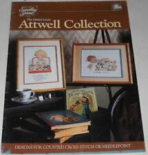 Mabel Lucie Attwell Collection Cross Stitch/Needlepoint Booklet #90032 1987