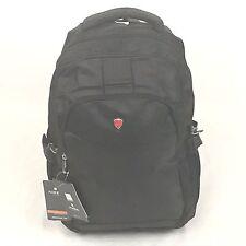 Aoking Nylon Black School Travel Backpack bag Rucksack fits 5.5 inch laptop