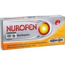 NUROFEN Toujours faire glisser 200 mg Capsules molles 10 pièces PZN146519