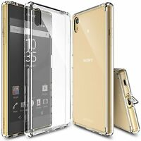 For Sony Xperia Z5 | Ringke [FUSION] Clear PC Shockproof Protective Cover Case