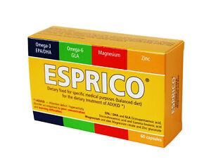 Esprico Vitamins Omega 3 Omega 6 Zinc Magnesium 60 caps