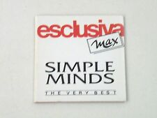 "SIMPLE MINDS - THE VERY BEST OF- RARO CD 3"" INCH MINI CARDBOARD SLEEVE  NM-/NM-"