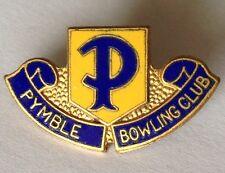 Pymble Bowling Club Badge Rare Vintage (K7)