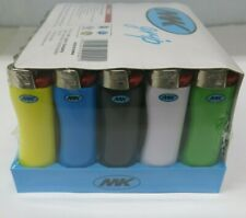 New Full Size MK GRIP Multipurpose Premium Disposable Lighters 50 Display Pack