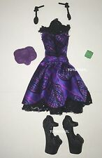 Monster High Scream & Sugar Amanita Nightshade Doll Outfit Dress & Shoes NEW