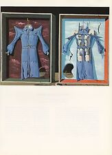 """1976 Vintage SALVADOR DALI """"NIGHT and DAY CLOTHES"""" COLOR Art Print Lithograph"""