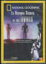 DVD -La Historia Secreta De Los Ovnis NEW National Geographic FAST SHIPPING!