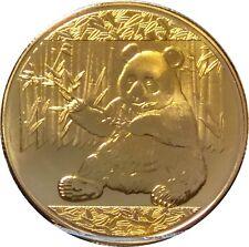 China Panda Münze Coin Chinesische Panda Münze Medaille Sammelmünze RAR