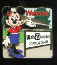 WDW Florida Project Welcome Preview Center Minnie Disney Pin 86440