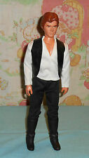 """vintage Star Wars LARGE-SIZE (12"""") HAN SOLO #3 doll & clothes only figure Kenner"""