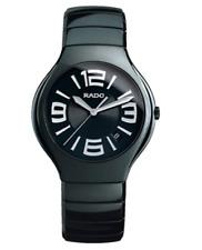 Rado True 115.0653.3.016 Black Ceramic Round 40mm Swiss Quartz Men's Watch