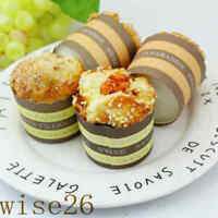 Artificial Pastry Food Imitation Display Prop Bakery Cupcake Fake Muffin Magnets