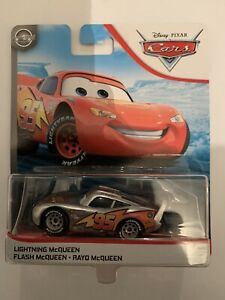 Disney Pixar Cars LIGHTNING McQUEEN  SILVER COLLECTION