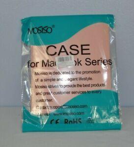 "Mosiso for MacBook Series 13"" Hard Case Rose Quartz Laptop Cover A1932"
