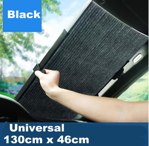 Upgrade Auto Windshield Sunshade Black Sun Shade for Car Cover Visor Wind Shield