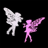 Butterfly Angel Metal Cutting Dies for DIY Scrapbooking Album/photo Card DecoIFR