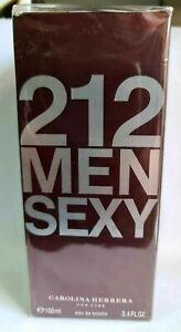 Carolina Herrera 212 Sexy Men Edt 100ml 3.4oz 100% Original Brand NEW & Sealed