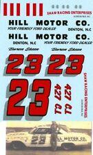 #23 Buren Skeen Hill Motor Company 1964 Ford Decals