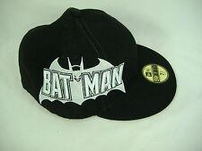 New Era Batman 7 3/8 Fitted Black White Hat 59 50 Fifty 58.7 cm 5950 $33