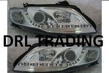 LED Chrome Projector Headlights for Ford FPV Falcon FG Models Sedan  DRL Like