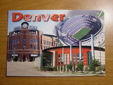 Coors Invesco Field Stadium Pepsi Center PostcardDenver