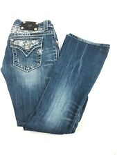 Miss Me Women's Jeans Size 27 Boot Cut JP5002-22 Embellished Bling