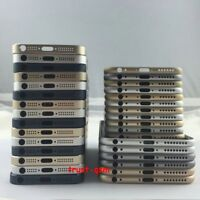 For iPhone 5 5S 6 6Plus 6S 6SPlus 7 7Plus Housing Metal Back Case Cover Warranty