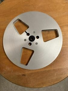 Used MEISTER 7 inch metal take up reel USA