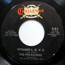 THE PREACHERS 45 Vitamin L.O.V.E. / 'Til The Dawn SOUL Funk VG++ e5939
